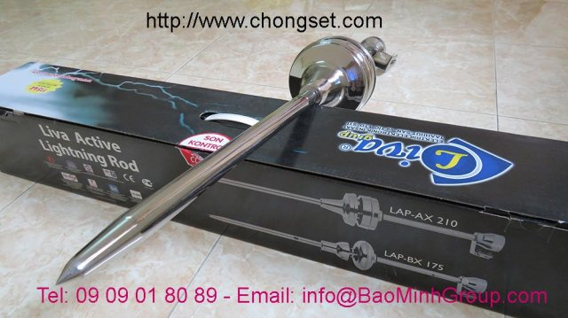 Kim chống sét Liva LAP-AX 210